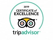 TripAdvisor: Certificate of quality 2019 for Four Elements Kirov